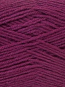 Fine Weight  Composition 100% Acrylique, Maroon, Brand ICE, Yarn Thickness 2 Fine  Sport, Baby, fnt2-23691