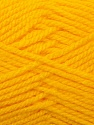 Bulky  Fiber Content 100% Acrylic, Yellow, Brand Ice Yarns, Yarn Thickness 5 Bulky  Chunky, Craft, Rug, fnt2-23751
