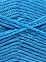 Fiber Content 55% Lambs Wool, 25% Acrylic, 20% Polyamide, Brand KUKA, Blue, Yarn Thickness 3 Light  DK, Light, Worsted, fnt2-24238