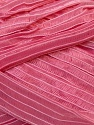 Width of the ribbon is 1.75 cm (5/8 inches) Fiber Content 100% Polyamide, Pink, Brand ICE, Yarn Thickness 6 SuperBulky  Bulky, Roving, fnt2-24435