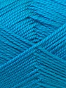 Composition 100% Acrylique, Turquoise, Brand ICE, Yarn Thickness 2 Fine  Sport, Baby, fnt2-24497