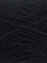 Bulky  Composition 100% Acrylique, Brand ICE, Black, Yarn Thickness 5 Bulky  Chunky, Craft, Rug, fnt2-24499