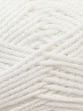 Bulky  Composition 100% Acrylique, White, Brand ICE, Yarn Thickness 5 Bulky  Chunky, Craft, Rug, fnt2-24500