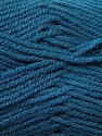 Worsted  Fiber Content 100% Acrylic, Brand ICE, Blue, Yarn Thickness 4 Medium  Worsted, Afghan, Aran, fnt2-24504
