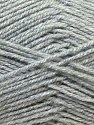 Fine Weight  Composition 100% Acrylique, Light Grey, Brand ICE, Yarn Thickness 2 Fine  Sport, Baby, fnt2-24509