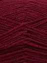 Fine Weight  Fiber Content 100% Acrylic, Brand ICE, Burgundy, Yarn Thickness 2 Fine  Sport, Baby, fnt2-24513