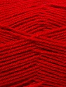 Fine Weight  Fiber Content 100% Acrylic, Red, Brand ICE, Yarn Thickness 2 Fine  Sport, Baby, fnt2-24514
