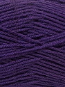 Fine Weight  Composition 100% Acrylique, Purple, Brand ICE, Yarn Thickness 2 Fine  Sport, Baby, fnt2-24518