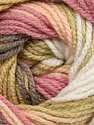 Fiber Content 100% Premium Acrylic, White, Pink, Multicolor, Brand ICE, Camel, Beige, Yarn Thickness 3 Light  DK, Light, Worsted, fnt2-24558