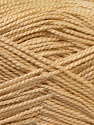 Fiber Content 100% Acrylic, Brand ICE, Cream, Yarn Thickness 1 SuperFine  Sock, Fingering, Baby, fnt2-24589