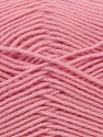 Fiber Content 100% Virgin Wool, Light Pink, Brand ICE, Yarn Thickness 3 Light  DK, Light, Worsted, fnt2-24766