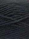 Fiber Content 60% Acrylic, 20% Alpaca, 20% Wool, Brand ICE, Black, Yarn Thickness 5 Bulky  Chunky, Craft, Rug, fnt2-25351