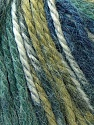 Fiber Content 40% Acrylic, 35% Wool, 25% Alpaca, Navy, Khaki, Brand ICE, Green, Blue, Yarn Thickness 5 Bulky  Chunky, Craft, Rug, fnt2-25419
