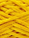 Fiber Content 100% Micro Fiber, Yellow, Brand Ice Yarns, Yarn Thickness 5 Bulky  Chunky, Craft, Rug, fnt2-25540