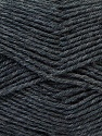 Fiber Content 100% Virgin Wool, Brand ICE, Dark Grey, Yarn Thickness 3 Light  DK, Light, Worsted, fnt2-25649