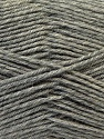 Fiber Content 100% Virgin Wool, Light Grey, Brand ICE, Yarn Thickness 3 Light  DK, Light, Worsted, fnt2-25650