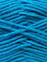 Composition 70% Dralon, 30% Alpaga, Light Blue, Brand ICE, Yarn Thickness 4 Medium  Worsted, Afghan, Aran, fnt2-25666