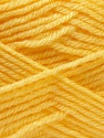 Fiber Content 60% Acrylic, 40% Wool, Yellow, Brand ICE, Yarn Thickness 3 Light  DK, Light, Worsted, fnt2-25935