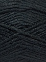 Fiber Content 45% Bamboo, 45% Wool, 10% Acrylic, Brand ICE, Black, Yarn Thickness 3 Light  DK, Light, Worsted, fnt2-25966