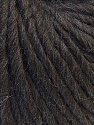 Fiber Content 100% Wool, Brand ICE, Dark Brown, Yarn Thickness 5 Bulky  Chunky, Craft, Rug, fnt2-25996