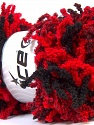 Composition 100% Acrylique, Red, Brand ICE, Black, Yarn Thickness 6 SuperBulky  Bulky, Roving, fnt2-26037