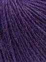Composition 48% Laine mérinos, 27% Acrylique, 25% Polyamide, Purple, Brand ICE, Yarn Thickness 2 Fine  Sport, Baby, fnt2-26146