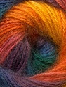 Fiber Content 55% Acrylic, 45% Angora, Yellow, Purple, Orange, Brand ICE, Green, Blue, Yarn Thickness 2 Fine  Sport, Baby, fnt2-26939