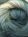 Composition 55% Acrylique, 45% Angora, White, Brand ICE, Grey Shades, Yarn Thickness 2 Fine  Sport, Baby, fnt2-27132