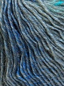 Fiber Content 50% Wool, 50% Acrylic, Turquoise, Brand ICE, Grey Shades, Blue, Yarn Thickness 3 Light  DK, Light, Worsted, fnt2-27153