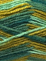 Fiber Content 70% Wool, 30% Acrylic, Brand ICE, Green Shades, Yarn Thickness 3 Light  DK, Light, Worsted, fnt2-27183