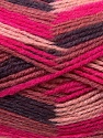 Fiber Content 70% Wool, 30% Acrylic, Maroon, Light Pink, Brand ICE, Fuchsia, Brown, Yarn Thickness 3 Light  DK, Light, Worsted, fnt2-27187
