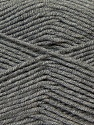 Fiber Content 50% Micro Acrylic, 50% Bamboo, Brand ICE, Grey, Yarn Thickness 3 Light  DK, Light, Worsted, fnt2-27233