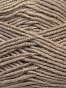 Fiber Content 50% Bamboo, 50% MicroAcrylic, Brand ICE, Beige, Yarn Thickness 3 Light  DK, Light, Worsted, fnt2-27236