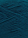 Fiber Content 50% Bamboo, 50% MicroAcrylic, Brand ICE, Dark Teal, Yarn Thickness 3 Light  DK, Light, Worsted, fnt2-27239