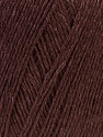 Fiber Content 50% Linen, 50% Viscose, Brand ICE, Dark Brown, Yarn Thickness 2 Fine  Sport, Baby, fnt2-27254