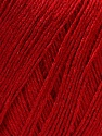 Composition 50% Viscose, 50% Lin, Brand ICE, Dark Red, Yarn Thickness 2 Fine  Sport, Baby, fnt2-27261