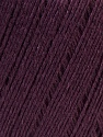 Composition 50% Viscose, 50% Lin, Maroon, Brand ICE, Yarn Thickness 2 Fine  Sport, Baby, fnt2-27265