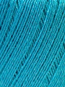 Composition 50% Lin, 50% Viscose, Light Turquoise, Brand ICE, Yarn Thickness 2 Fine  Sport, Baby, fnt2-27270