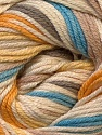 Composition 50% Bambou, 25% Dralon, 25% Coton, Yellow, White, Brand ICE, Camel, Blue, Yarn Thickness 2 Fine  Sport, Baby, fnt2-27295