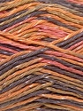 Fiber Content 70% Cotton, 30% Viscose, Pink, Orange, Lilac, Khaki, Brand ICE, Yarn Thickness 2 Fine  Sport, Baby, fnt2-27300