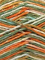 Fiber Content 70% Cotton, 30% Viscose, Orange, Light Brown, Khaki, Brand ICE, Yarn Thickness 2 Fine  Sport, Baby, fnt2-27301