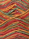 Fiber Content 70% Cotton, 30% Viscose, Yellow, Red, Khaki, Brand ICE, Yarn Thickness 2 Fine  Sport, Baby, fnt2-27302