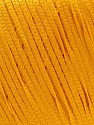 Composition 100% Polyester, Brand ICE, Dark Yellow, Yarn Thickness 4 Medium  Worsted, Afghan, Aran, fnt2-27338