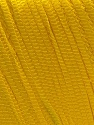 Composition 100% Polyester, Yellow, Brand ICE, Yarn Thickness 4 Medium  Worsted, Afghan, Aran, fnt2-27339