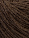 Fiber Content 50% Acrylic, 50% Cotton, Brand ICE, Brown, fnt2-27355