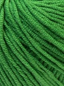 Fiber Content 50% Acrylic, 50% Cotton, Brand ICE, Green, fnt2-27365