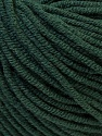 Fiber Content 50% Acrylic, 50% Cotton, Brand ICE, Dark Green, fnt2-27366