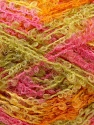 Fiber Content 50% Acrylic, 50% Mohair, Yellow, Pink, Orange, Brand ICE, Green, Yarn Thickness 3 Light  DK, Light, Worsted, fnt2-27636