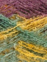 Fiber Content 50% Mohair, 50% Acrylic, Yellow, Purple, Mint Green, Brand ICE, Yarn Thickness 3 Light  DK, Light, Worsted, fnt2-27640