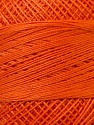 Fiber Content 100% Mercerised Cotton, Orange, Brand ICE, Yarn Thickness 0 Lace  Fingering Crochet Thread, fnt2-27800